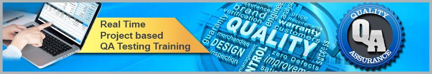 QA Testing Project