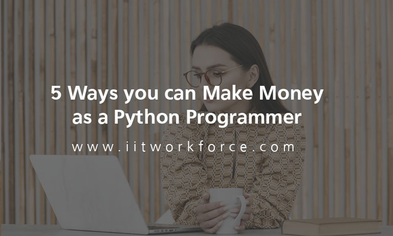 5 Ways you can Make Money as a Python Programmer