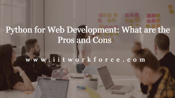 Python for Web Development: What are the Pros and Cons