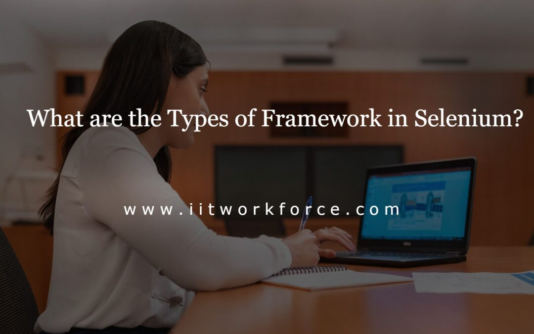 What are the Types of Framework in Selenium?